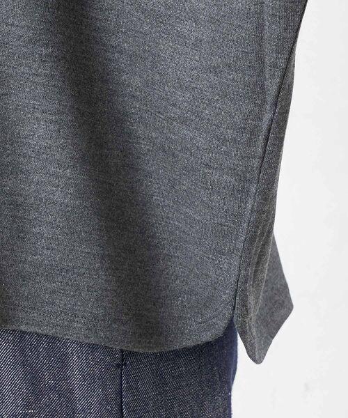 BEARDSLEY / ビアズリー カットソー | モヘア刺繍プルオーバーカットソー | 詳細20
