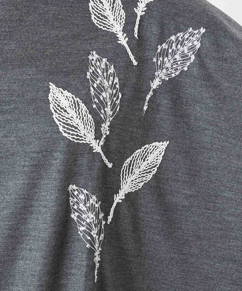 BEARDSLEY / ビアズリー カットソー | モヘア刺繍プルオーバーカットソー | 詳細22