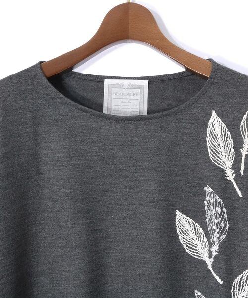 BEARDSLEY / ビアズリー カットソー | モヘア刺繍プルオーバーカットソー | 詳細25