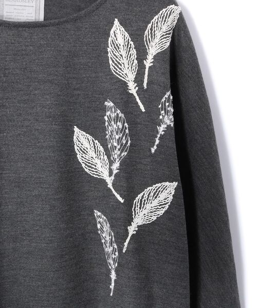 BEARDSLEY / ビアズリー カットソー | モヘア刺繍プルオーバーカットソー | 詳細29