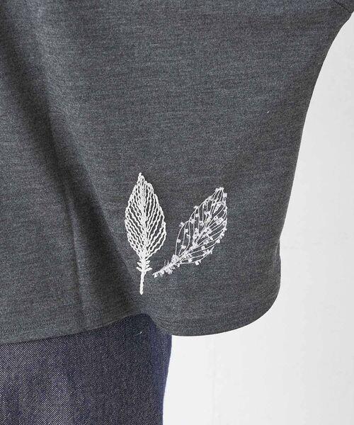 BEARDSLEY / ビアズリー カットソー | モヘア刺繍プルオーバーカットソー | 詳細17