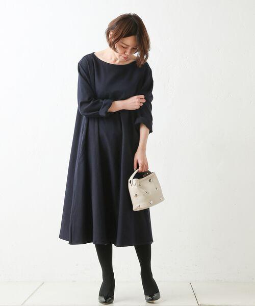 BEARDSLEY / ビアズリー ロング・マキシ丈ワンピース | テントワンピース | 詳細1