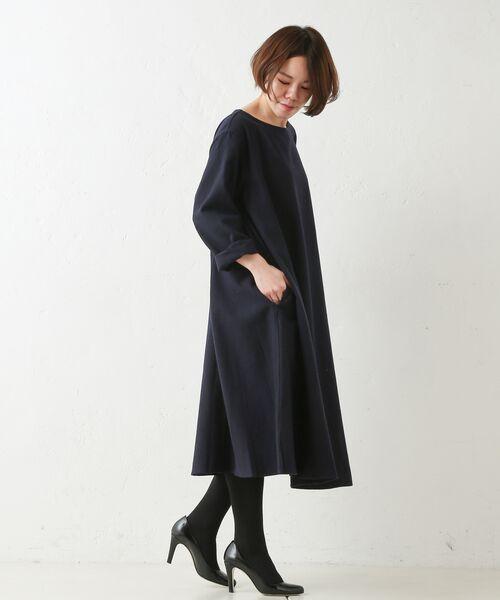 BEARDSLEY / ビアズリー ロング・マキシ丈ワンピース | テントワンピース | 詳細4