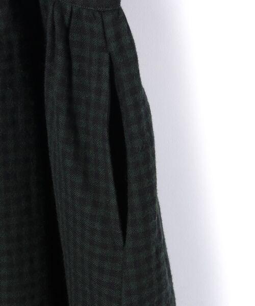BEARDSLEY / ビアズリー ロング・マキシ丈ワンピース | ウールギンガムワンピース | 詳細8