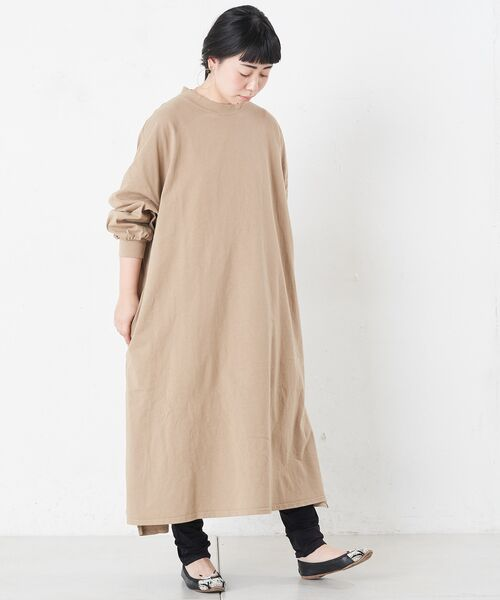 BEARDSLEY / ビアズリー ロング・マキシ丈ワンピース | BIGTシャツワンピース | 詳細3
