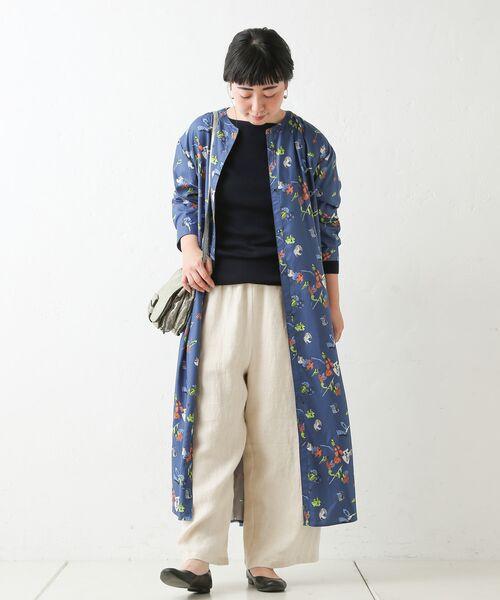 BEARDSLEY / ビアズリー ロング・マキシ丈ワンピース | おもちゃ柄プリントワンピース | 詳細3