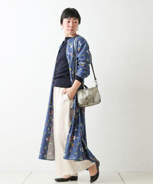 BEARDSLEY / ビアズリー ロング・マキシ丈ワンピース | おもちゃ柄プリントワンピース | 詳細4