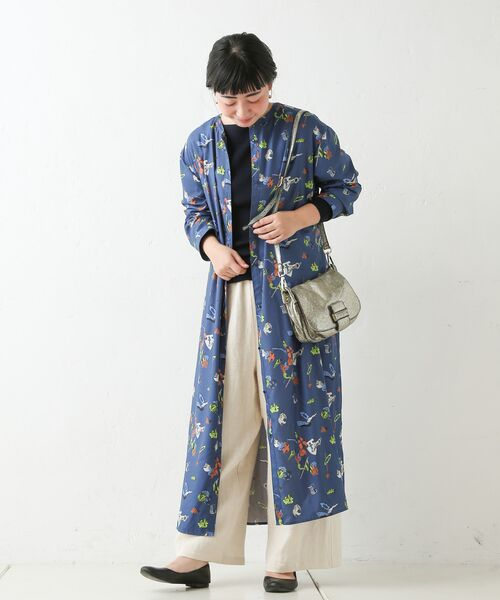 BEARDSLEY / ビアズリー ロング・マキシ丈ワンピース | おもちゃ柄プリントワンピース | 詳細7