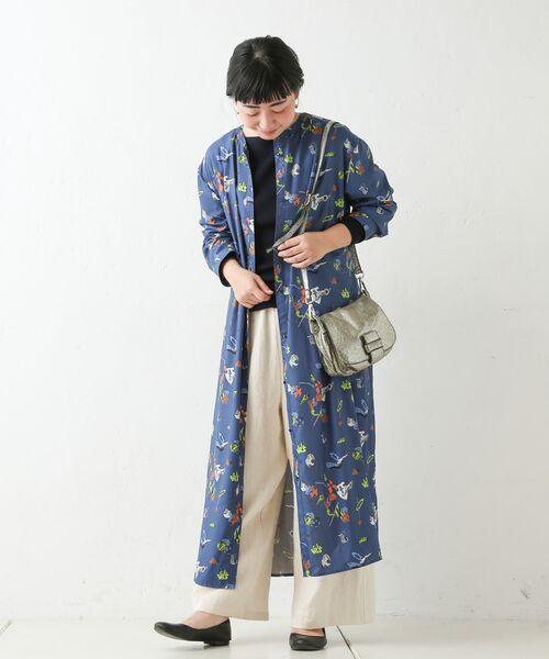 BEARDSLEY / ビアズリー ロング・マキシ丈ワンピース | おもちゃ柄プリントワンピース | 詳細8
