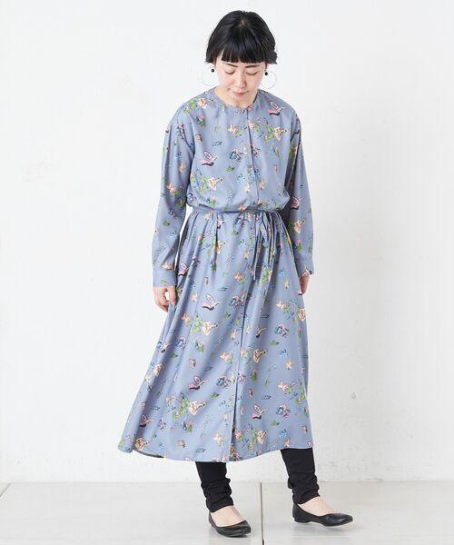 BEARDSLEY / ビアズリー ロング・マキシ丈ワンピース | おもちゃ柄プリントワンピース | 詳細9