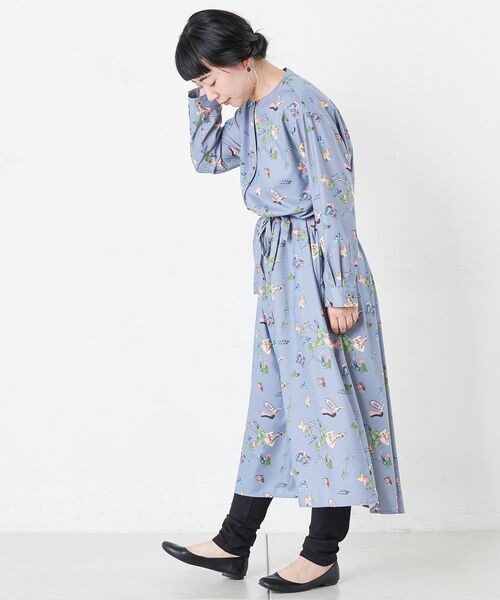BEARDSLEY / ビアズリー ロング・マキシ丈ワンピース | おもちゃ柄プリントワンピース | 詳細11