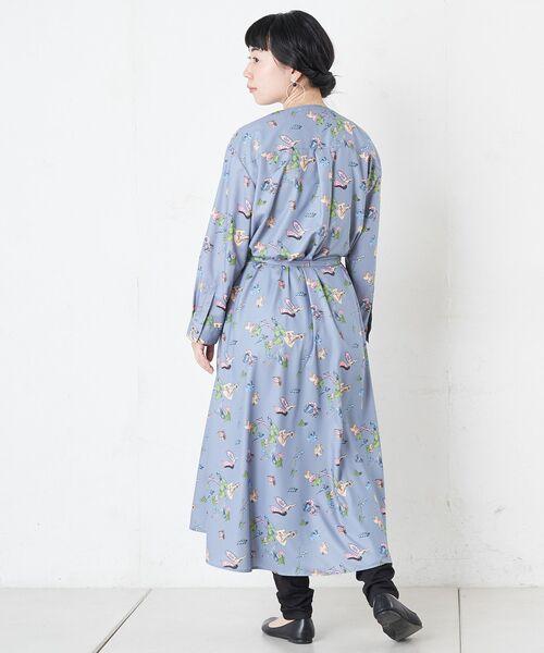 BEARDSLEY / ビアズリー ロング・マキシ丈ワンピース | おもちゃ柄プリントワンピース | 詳細12