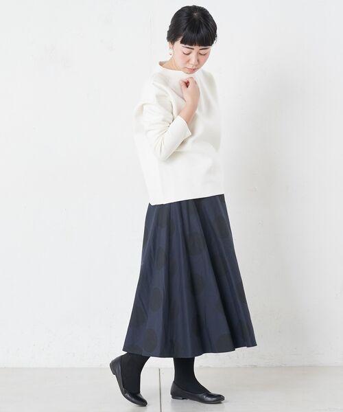 BEARDSLEY / ビアズリー ロング・マキシ丈スカート | ドットフレアスカート | 詳細2