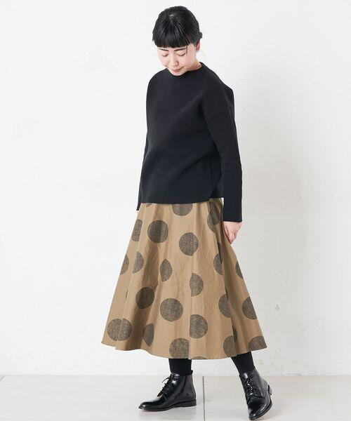 BEARDSLEY / ビアズリー ロング・マキシ丈スカート | ドットフレアスカート | 詳細8