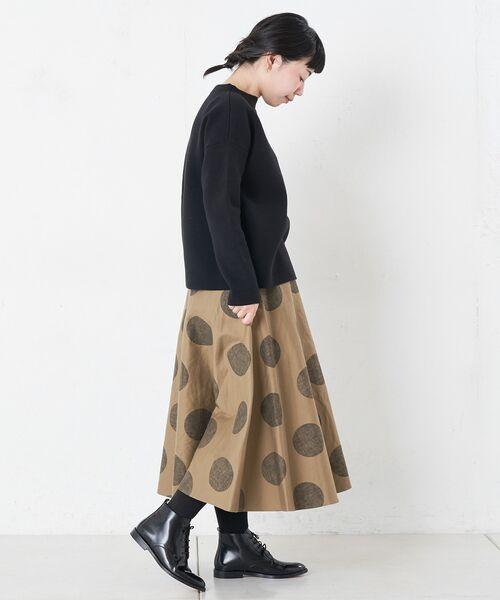 BEARDSLEY / ビアズリー ロング・マキシ丈スカート | ドットフレアスカート | 詳細9