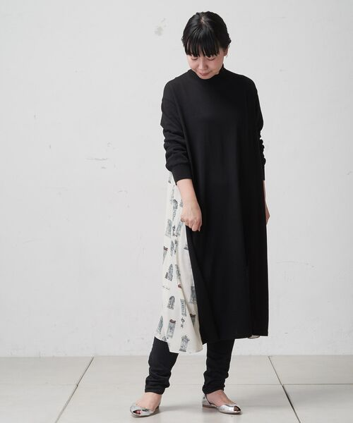 BEARDSLEY / ビアズリー ロング・マキシ丈ワンピース | ドアプリントワンピース | 詳細4