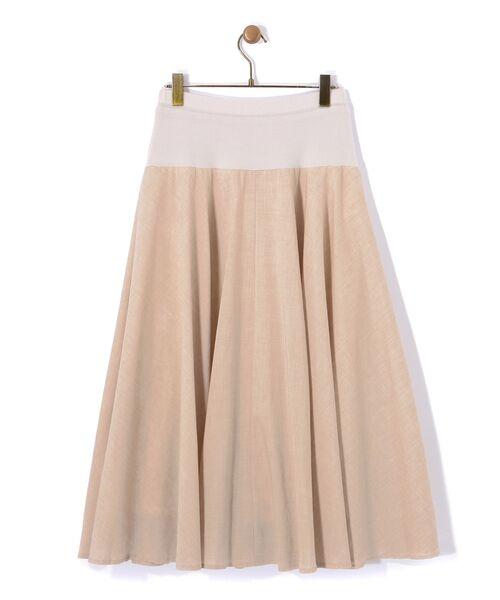BEARDSLEY / ビアズリー ロング・マキシ丈スカート | ウエストジャージースカート | 詳細4