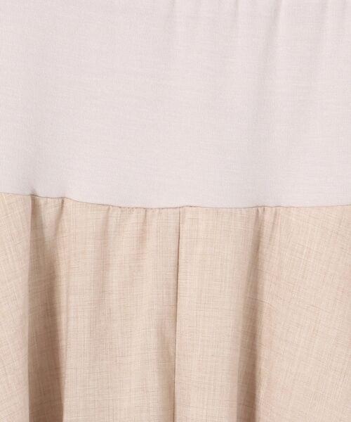 BEARDSLEY / ビアズリー ロング・マキシ丈スカート | ウエストジャージースカート | 詳細8