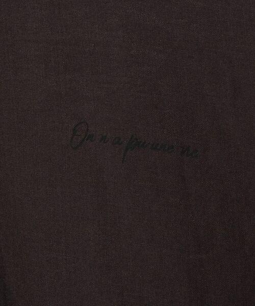 BEARDSLEY / ビアズリー シャツ・ブラウス | フォーチュンプリントブラウス | 詳細11