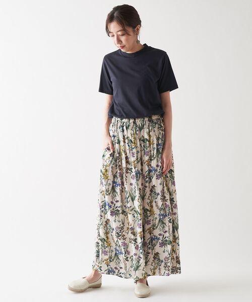 BEARDSLEY / ビアズリー その他パンツ | 花プリントパンツ | 詳細2