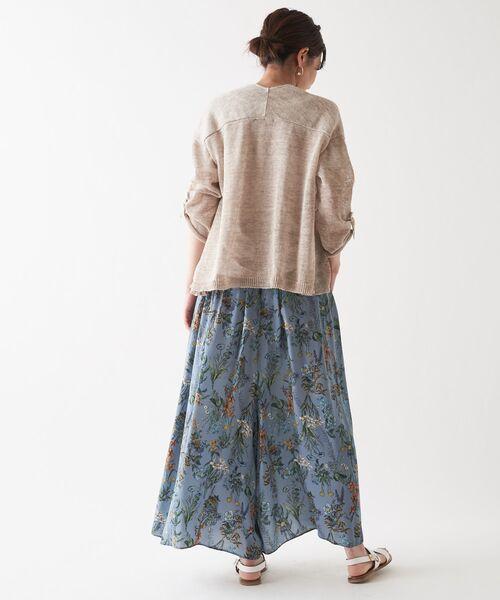 BEARDSLEY / ビアズリー その他パンツ | 花プリントパンツ | 詳細7
