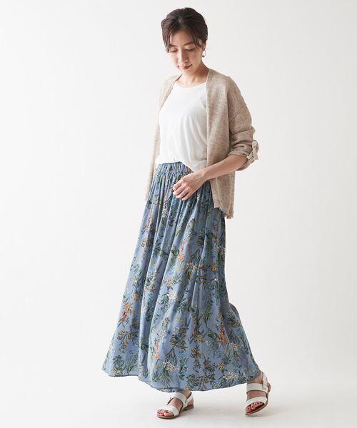 BEARDSLEY / ビアズリー その他パンツ | 花プリントパンツ | 詳細8