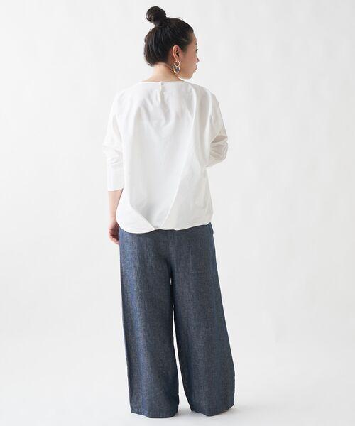 BEARDSLEY / ビアズリー シャツ・ブラウス   刺繍シャツTシャツ   詳細2