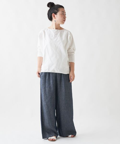 BEARDSLEY / ビアズリー シャツ・ブラウス   刺繍シャツTシャツ   詳細3