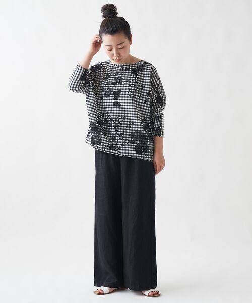 BEARDSLEY / ビアズリー シャツ・ブラウス   刺繍シャツTシャツ   詳細7
