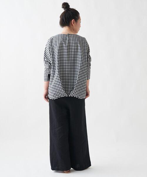 BEARDSLEY / ビアズリー シャツ・ブラウス   刺繍シャツTシャツ   詳細8