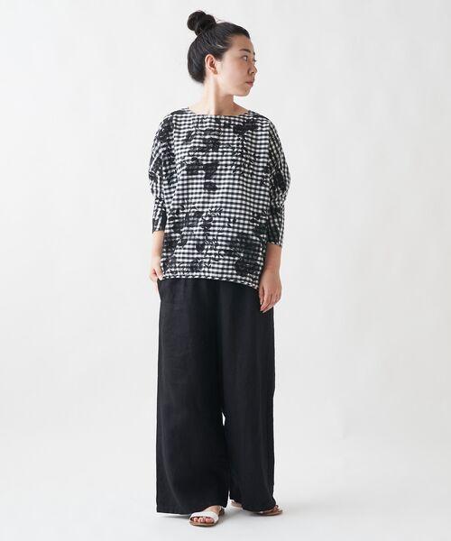 BEARDSLEY / ビアズリー シャツ・ブラウス   刺繍シャツTシャツ   詳細9