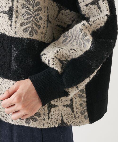 BEARDSLEY / ビアズリー ニット・セーター | タイルジャガードプルオーバーニット | 詳細12