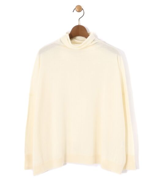 BEARDSLEY / ビアズリー ニット・セーター | BIGニットプルオーバー(ホワイト)