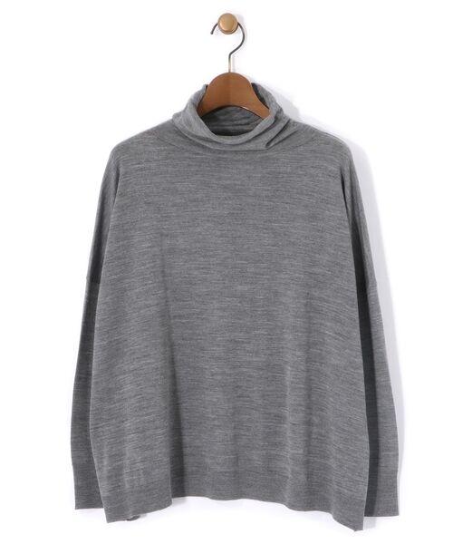 BEARDSLEY / ビアズリー ニット・セーター | BIGニットプルオーバー(グレー)