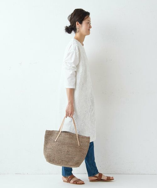 BEARDSLEY / ビアズリー ロング・マキシ丈ワンピース   フロント刺繍ワンピース   詳細10