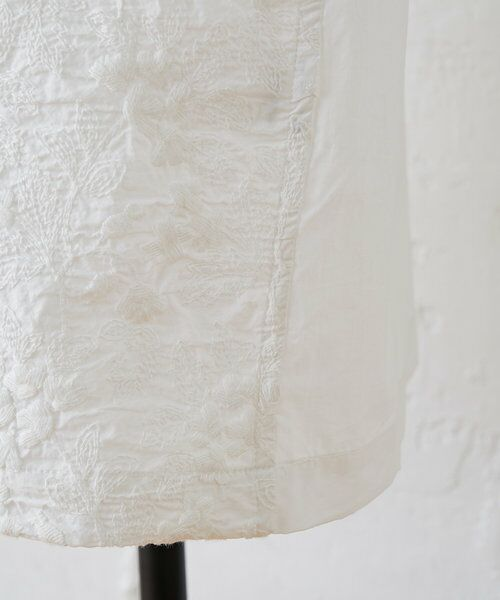 BEARDSLEY / ビアズリー ロング・マキシ丈ワンピース   フロント刺繍ワンピース   詳細18