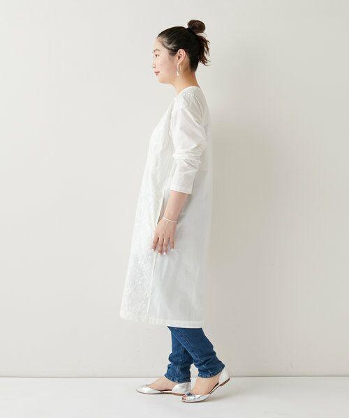 BEARDSLEY / ビアズリー ロング・マキシ丈ワンピース   フロント刺繍ワンピース   詳細4