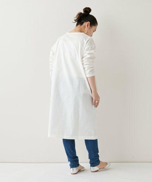 BEARDSLEY / ビアズリー ロング・マキシ丈ワンピース   フロント刺繍ワンピース   詳細6