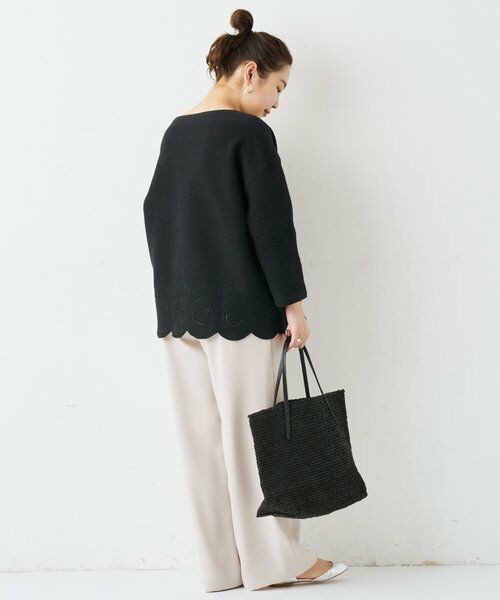 BEARDSLEY / ビアズリー トートバッグ   《Sans Arcidet》ラフィアバッグ   詳細14