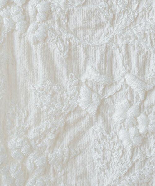 BEARDSLEY / ビアズリー カットソー | 《3サイズ展開》フロント刺繍フレンチカットソー | 詳細8