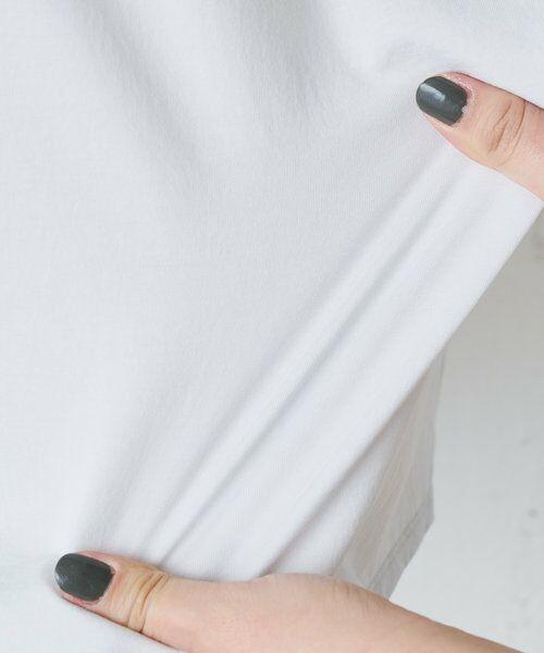BEARDSLEY / ビアズリー カットソー | 《3サイズ展開》フロント刺繍フレンチカットソー | 詳細23