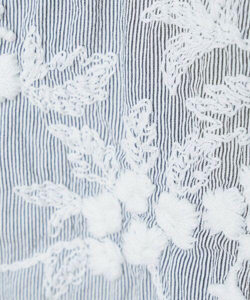 BEARDSLEY / ビアズリー カットソー | 《3サイズ展開》フロント刺繍フレンチカットソー | 詳細27