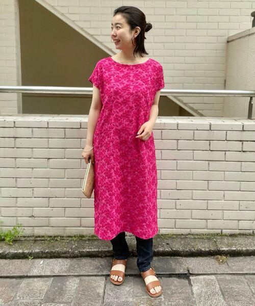 BEARDSLEY / ビアズリー ロング・マキシ丈ワンピース   敦賀フロント刺繍ワンピース   詳細2