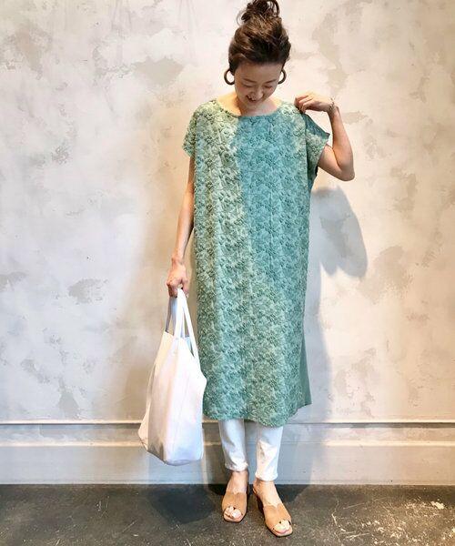 BEARDSLEY / ビアズリー ロング・マキシ丈ワンピース   敦賀フロント刺繍ワンピース   詳細16