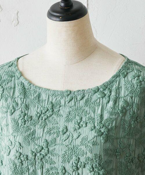 BEARDSLEY / ビアズリー ロング・マキシ丈ワンピース   敦賀フロント刺繍ワンピース   詳細21