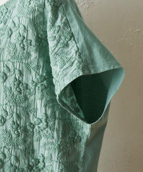 BEARDSLEY / ビアズリー ロング・マキシ丈ワンピース   敦賀フロント刺繍ワンピース   詳細22