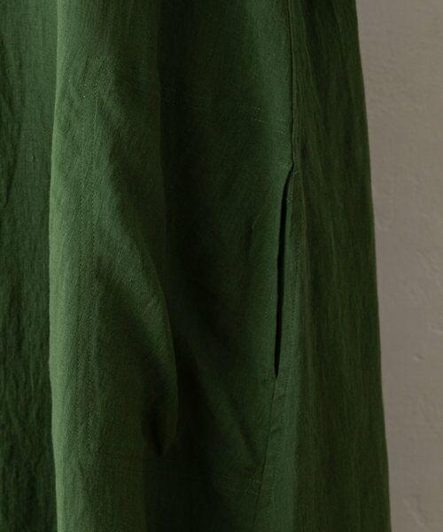 BEARDSLEY / ビアズリー ロング・マキシ丈ワンピース | 《5/27(木)新色予約追加》リネンTワンピース | 詳細7