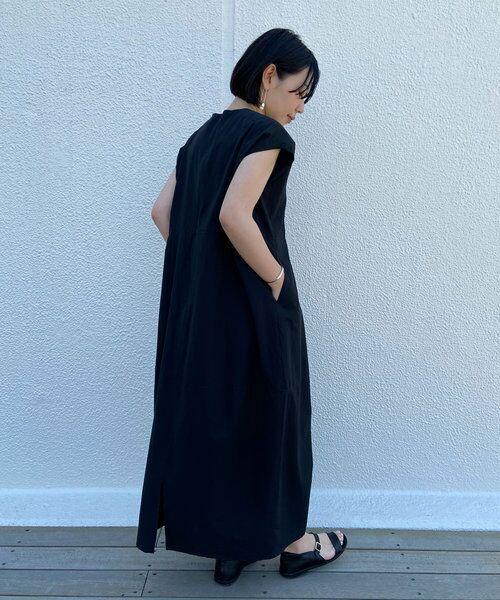 BEARDSLEY / ビアズリー ロング・マキシ丈ワンピース | コクーンコットンワンピース | 詳細19