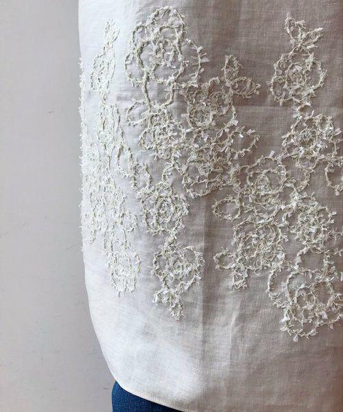 BEARDSLEY / ビアズリー ニット・セーター | 後ろ裾刺繍チュニック | 詳細4