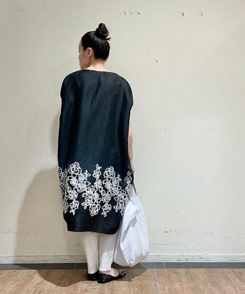 BEARDSLEY / ビアズリー ニット・セーター | 後ろ裾刺繍チュニック | 詳細9